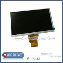 Original 7inch LCD screen for RAMOS W9 W10 NEWSMY newspad P7 E73 Gemei GM2000 Tablet PC free shipping(China)