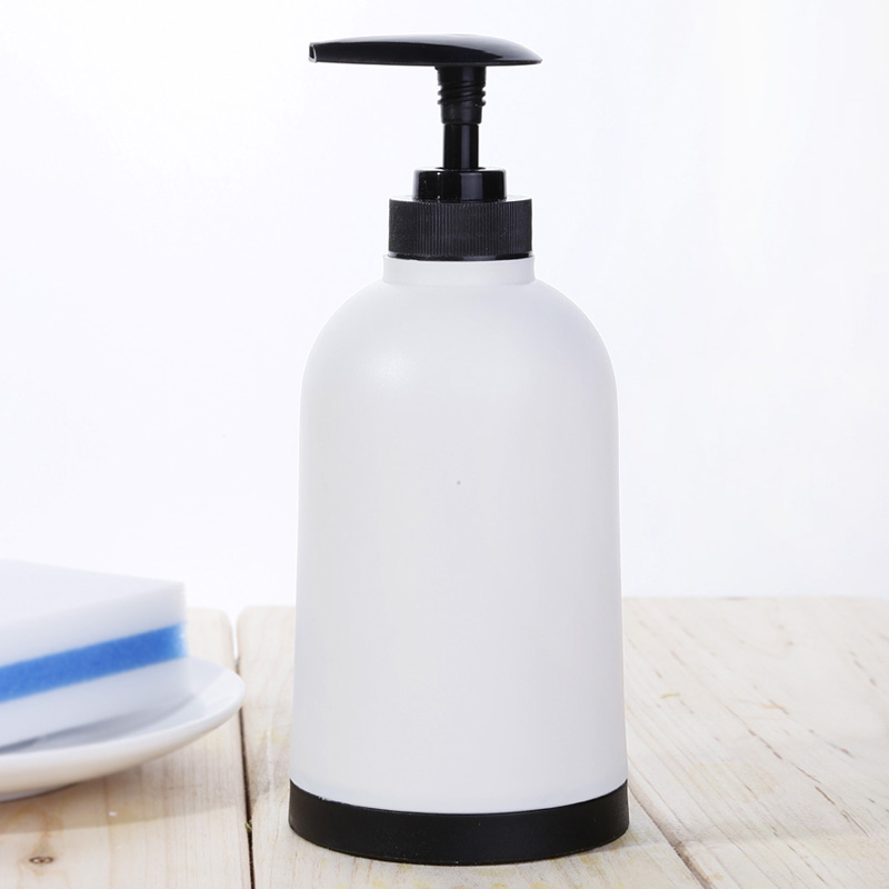 Fashion brief emulsion bottle hand sanitizer emulsion shampoo sub-bottling bottle bathroom supplies white<br>