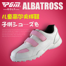 hook loop imported microfiber leather waterproof breathable women sport shoes anti-skid resistant good grip female golf shoes(China)