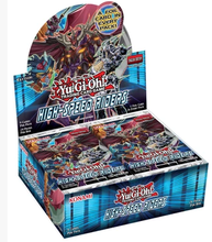 Original KONAMI Yugioh Card English Edition SP3 High-Speed Riders Supplementary Package New Box Yu-Gi-Oh Trading Card Game