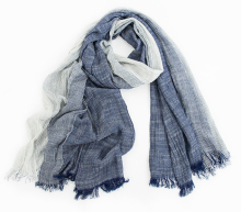 2015 Wholesale Brand Winter Scarf Men Warm Soft Tassel Bufandas Cachecol Gray Plaid Woven Wrinkled Cotton Men Scarves