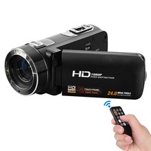 karue New 1080P HD Digital Video Camera Camcorder 24MP 16x Digital Zoom with Digital Rotation LCD Touch Screen Camcorder