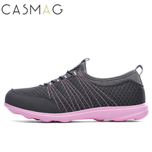 CASMAG Women's Running Shoes Walking Sport Outdoor Slip On Breathable Sneakers Light Weight Athletic Training Shoes