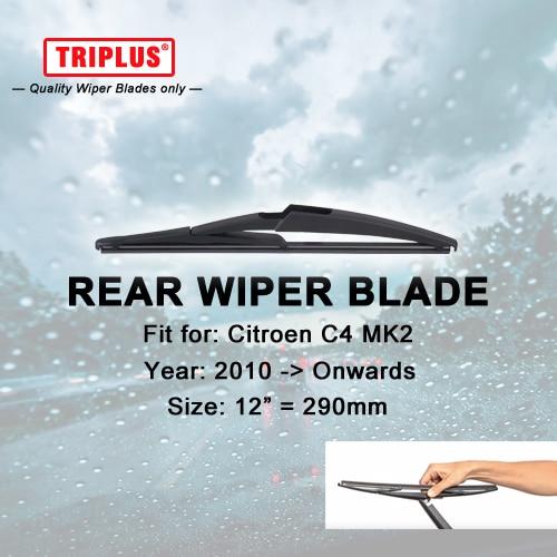 Rear Windshield Wiper Blade Fit For DS DS5 HATCHBACK 2015 ONWARDS 180MM// 7inch