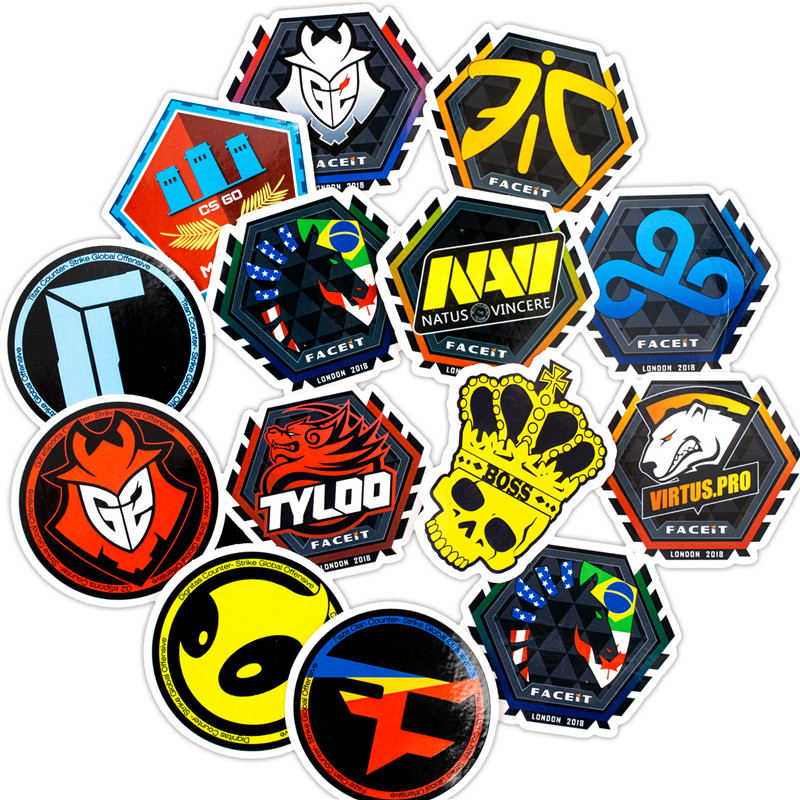 20PCS 2018 New CS GO Game Stickers Children Stickers For Kids Luggage Skateboard Laptop Motorcycle Toy Stickers Sets (3)