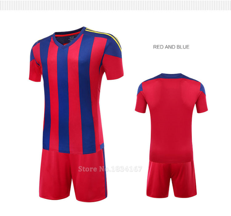 Men Customized Soccer Jerseys Adult DIY Sports Kits 17 Survetement Football Suits Training Jerseys College Soccer Uniform Sets 13