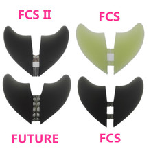 NEW Design hotsales homb fiber glass  fins 2pcs/set XXXL size for surfing fins  XXXL FCS Future FCS II FIN