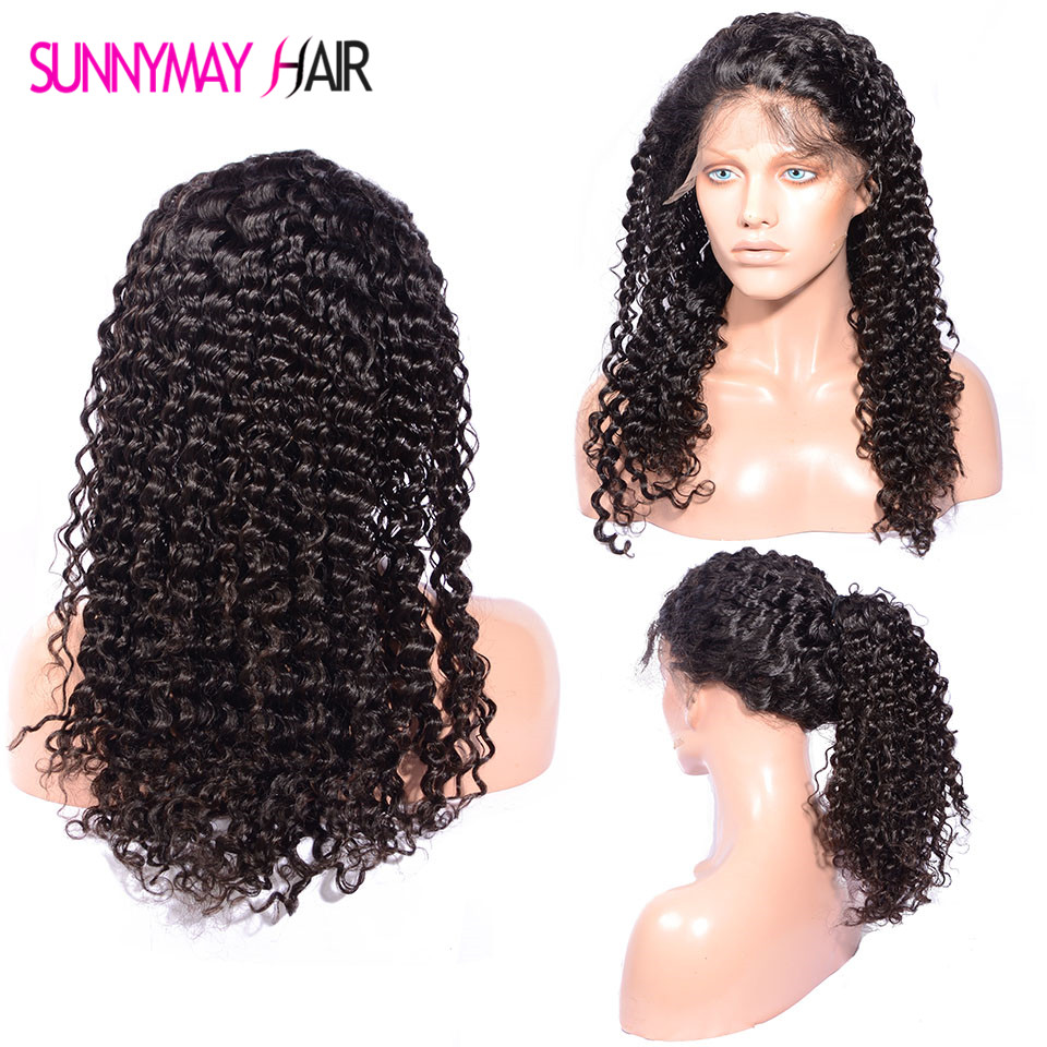 Full Lace Wig Deep Body Wave Brazilian Virgin Hair Natural Hairline Full Lace Human Hair Wigs Lace Front Human Hair wigs <br><br>Aliexpress
