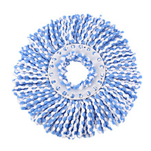 360 Rotating Microfiber Mop Head Replacement Magic Mop Easy Spinning Floor Spin Mop Accessories Household Cleaning Tool(China)
