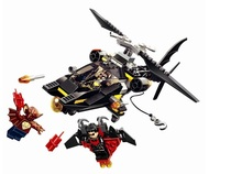 185pcs DC/marvel Batman Man-Bat Attack super heroes lepin building blocks weapons original Gift kid toys accessories lepin