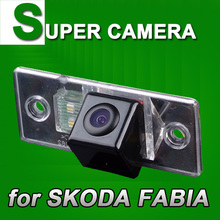 For Sony CCD SKODA FABIA Car Rear View Back Up Reverse Parking Autoradio Color Sensor Camera Security Kit for GPS Navigation