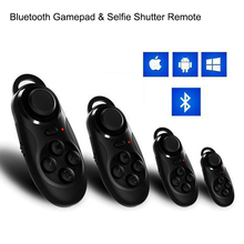 Bluetooth Wireless VR Box Remote Control Gamepad 3D VR Glasses IOS Smart Mobile Phone Universal Portable Mini Game Controller
