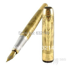 JINHAO 250 Golden M Fountain Pen Abstract Pattern
