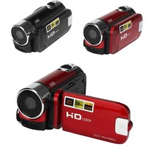 NEW 2.7'' TFT LCD 720P Digital Video Camcorder 16x Zoom DV Camera Supports HDMI Output Red/Black  RUSSIAN SPANISH