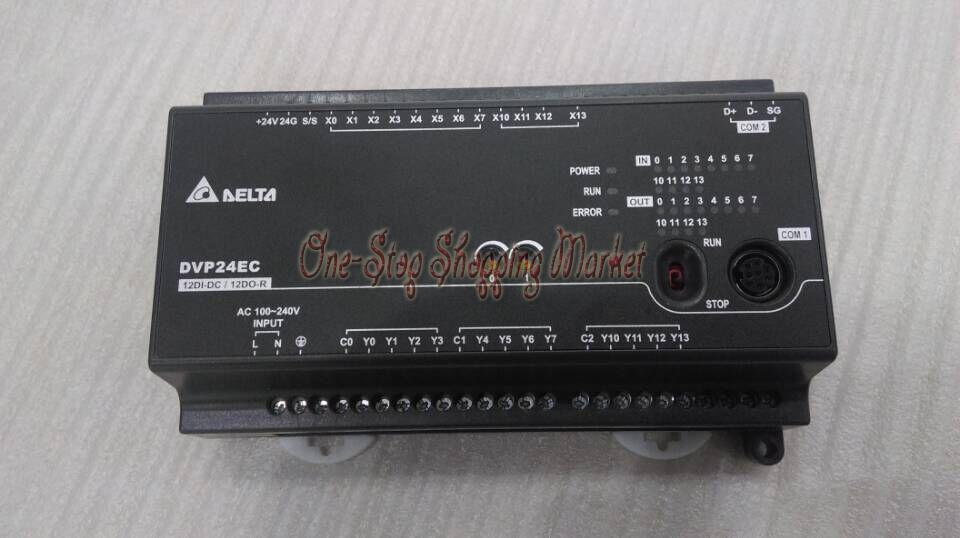 New Original Programmable Controller PLC EC3 Series Module DI12 DO12 transistor output Standard DVP24EC00T3 100-240VAC<br><br>Aliexpress