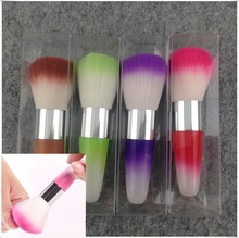 Nail Art Dust Remover Brush Cleaner Acrylic UV Gel Rhinestones Makeup Brush Tool Free shipping & Drop shipping (NR - WS21)(China)