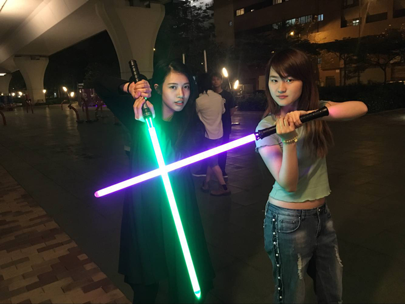 11 Colors Lightsaber Boy Gril Toy Flashing Sword RGB Sword Cosplay Interesting Star Laser Emitting Outdoor Creative Children Toy (3)