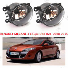 for RENAULT MEGANE III Coupe (DZ0/1) 2008+2015 Front bumper light Original Fog Lights lamp Halogen car styling.1SET.8200074008