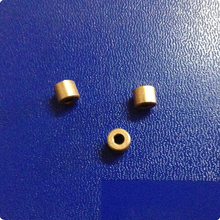 2.3*6*5mm Copper base powder metallurgical parts Powder Metallurgy oil bushing  porous bearing  Sintered copper sleeve