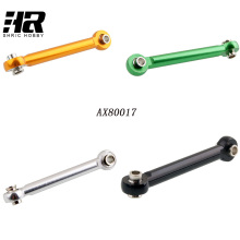 Free shipping AX80017 Aluminum Alloy Steering Servo Linkage Rod Tie For AXIAL SCX10 1/10 Scale Models RC Cars Rock Crawler