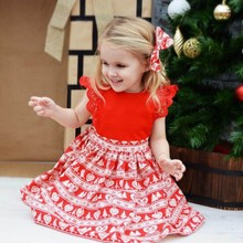 New Infant Children's Party Dress Sisters Installed Two-Piece Suit Lace Joker + Hair Band Christmas Sister Models(China)