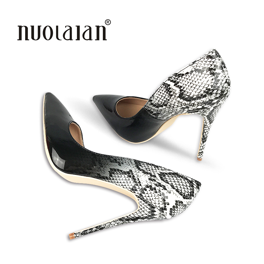2018 Brand fashion women pumps 12CM high heel pumps shoes for women sexy pointed toe high heels party wedding shoes woman <br>