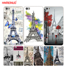 HAMEINUO Eiffel Tower Paris cell phone Cover Case for huawei honor 3C 4A 4X 4C 5X 6 7 8 Y3 Y5 Y6 2 II Y560 Y7 2017(China)