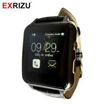 EXRIZU X7 Smart Watch Phone IPS Touch Screen Suporrt SIM & TF Card 0.3M Camera FM Radio Audio Video Player Pedometer Alarm Clock