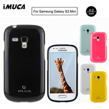 For Samsung Galaxy S3 Mini Case Cover iMUCA Ultra-thin Silicone Case Soft TPU Back Cover for Samsung Galaxy S3 Mini i8190 Case(China)