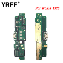 YRFF Repair Micro Flex Cable For Nokia Lumia 1320 USB Charger Dock Plug Connector Board Charging Port Flex Cable Repair Parts(China)