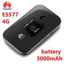 Huawei E5577 e5577s-321 3 г 4G маршрутизатор hauwei Карманный Wi-Fi точки доступа 3000 мАч Батарея 4G LTE маршрутизатор pk huawei e5885(China)