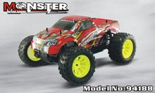 HSP 94188 4WD 2.4G 1/10 Scale Professional Nitro Power Advanced Off Road Monster car Truck Pivot Ball Suspension P2