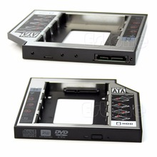 12.7mm SATA 2nd HDD SSD Universal Hard Drive Caddy for CD DVD-ROM Optical Bay(China)
