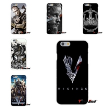 vikings Ragnar Vikings Season 3 TV Series Soft Silicone Cell Phone Cases Covers For iPhone 4 4S 5 5C SE 6 6S 7 Plus