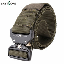 Buy New Tactical Combat Belt Men Military Army Belt Metal Buckle Nylon Belts Knock US Army Belt Length 125cm Three Color for $11.41 in AliExpress store