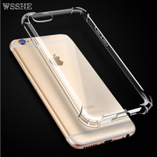 Ultra Thin Soft TPU Gel Original Transparent Case For iPhone 7 6s 7Plus 6sPlus 6 5 5S SE Crystal Clear Silicon Cover Phone Cases