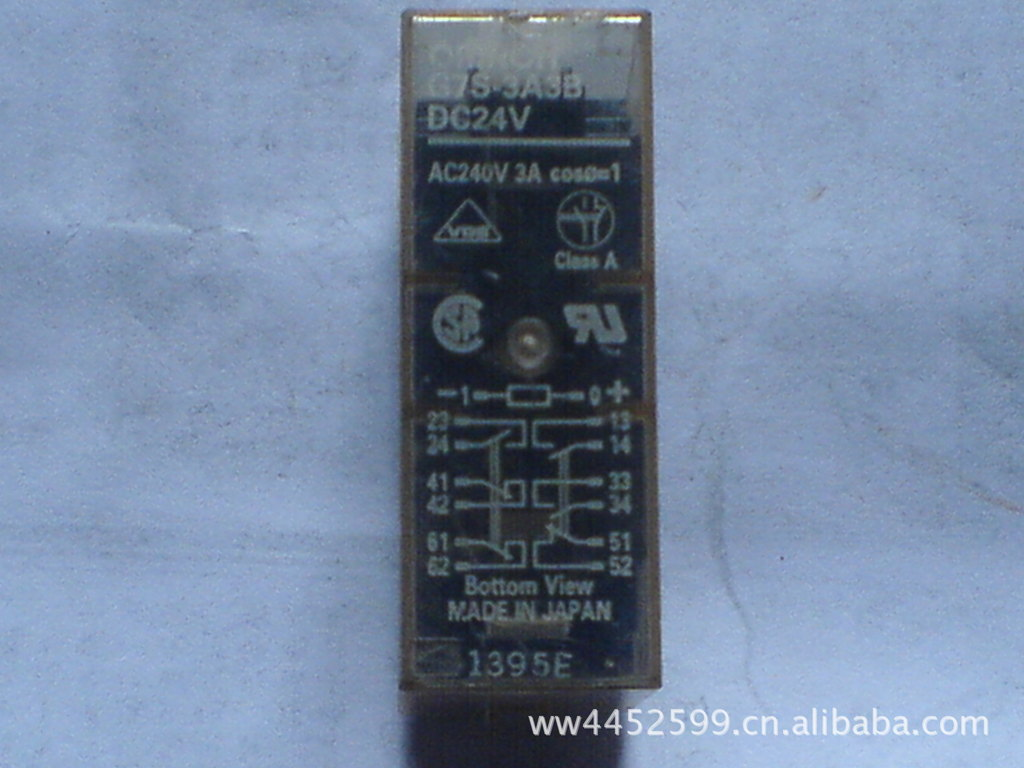 Relay G7S-3A3B DC24V<br>