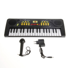 2017 Electric Toy 37 Keys Chidren Kid Piano Electronic Music Keyboard Electric Toy+Mic Adapter-P101