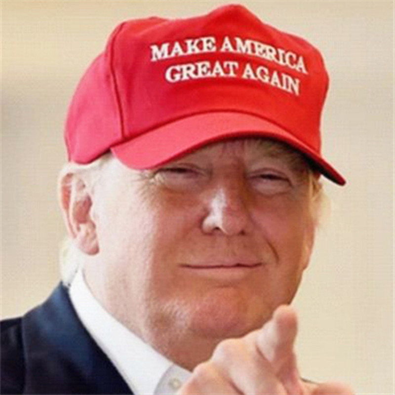 2016 Make America Great Again Hat Donald Trump Republican Embroidered Red Cap