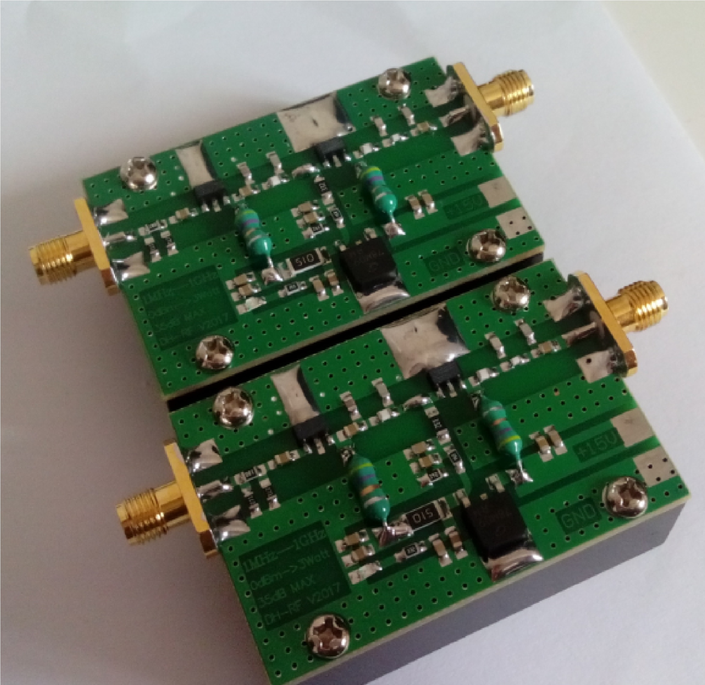 1MHz-1000MHZ 3W RF amplifier HF, FM, VHF, UHF FM transmitting broadband RF amplifier<br>