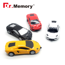 Dr.Memory Sports Car USB Flash Drive Mini Cooper Cartoon Pen Drive 32GB 16GB Memory Pendrive Stick Pen Metal USB Flash Drive 8GB