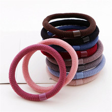 10pcs/lot 2017 New Elegant Elastics Hair Holders Hair Bands Gum Fashion Women Rubber Bands Girl's Headwear Tie Hair Accessories