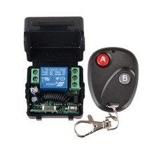 DC 12v 10A 1CH wireless RF Remote Control Switch Transmitter+ Receiver For Access/door Control System(China)