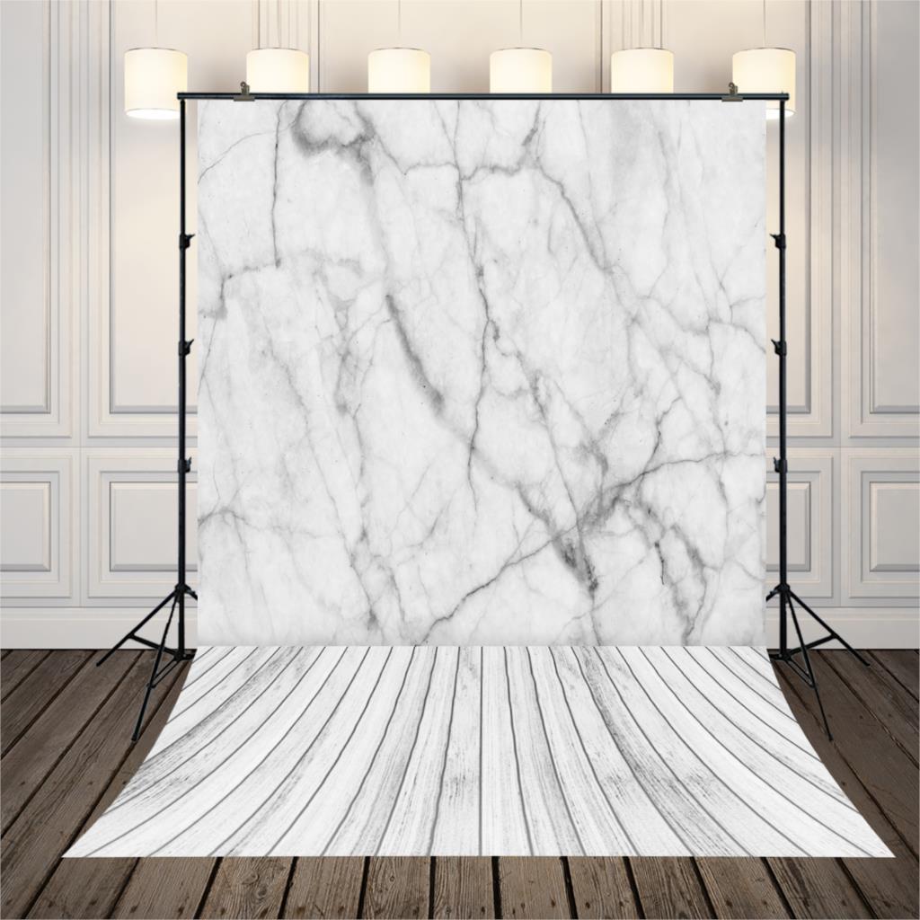 HUAYI Marble backdrops Photography Backdground Photographic Backdrops Newborn Photography Props photo Wooden Floor XT-5501