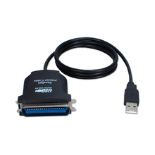 USB to Parallel IEEE 1284 36 Pin Printer Adapter Cable 85cm Length QJY99