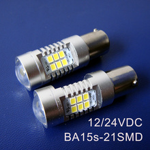 High quality 10W 12/24VDC BA15s,1156,P21W,,PY21W truck led lamps,BAU15s 1141 Freight car led Rear lights free shipping 5pcs/lot(China)