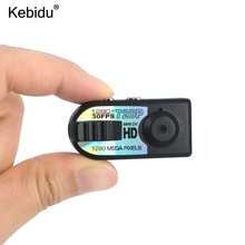 kebidu Mini HD 1280 720P DV DVR Camera Micro Camera Digital Q5 for Cam Video Voice Recorder Camcorder Camara for Espiao TF card(China)