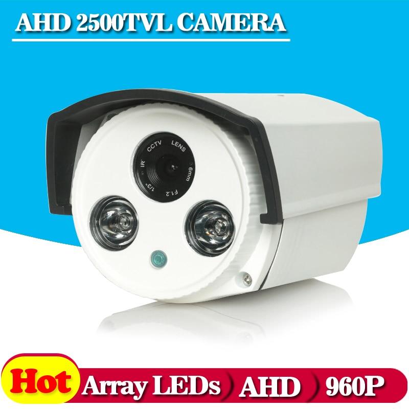 AHD camera 960P 1.3MP Bullet high power array leds camera waterproof night vision IR cut filter 1/3 serveillance home<br><br>Aliexpress