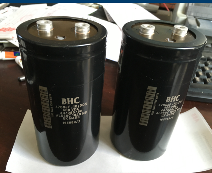 inverter capacitor 4700uf 400V<br>