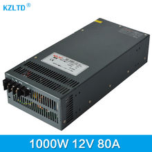 AC-DC 220V 12V Switching Power Supply 1000W DC 12V Power Adapter UPS 12V Output Power Supply 220 to 12V Adapter High Quality